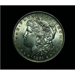 1881-o Morgan Dollar Grades Choice Uncirculated ms64