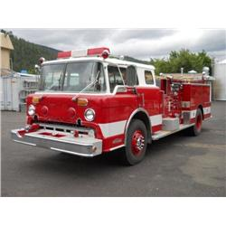 1972 Ford-Van Pelt Fire Engine Truck