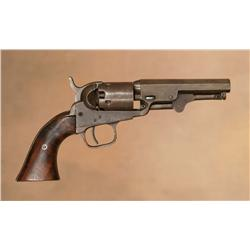 Colt Model 1849 Pocket Pistol With Original Holster