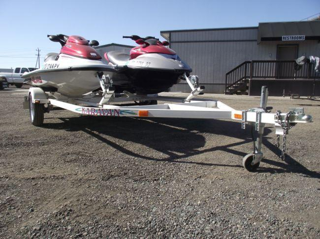 how to build a double jet ski trailer