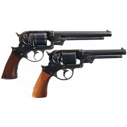 Two Starr Arms Revolvers