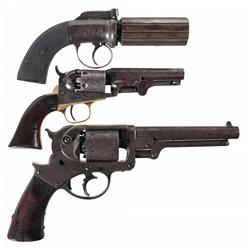 Three Antique Handguns
