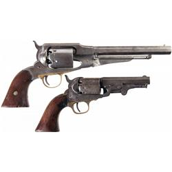 Two American Percussion Revolvers