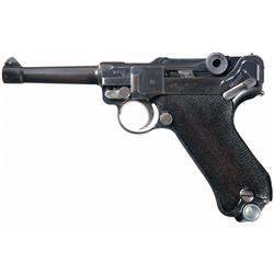 Mauser S/42 Code 1936 Dated Luger Semi-Automatic Pistol