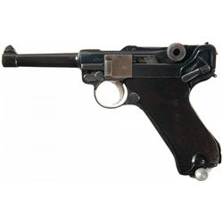 Erfurt 1920/1918 Double Dated Luger Semi-Automatic Pistol
