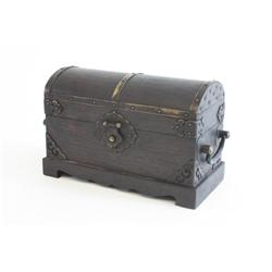 Magnificent 19th c. Zitan seal box with cover