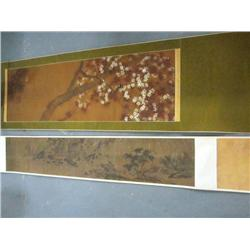 Chinese painting & hand scroll
