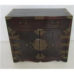 Korean wooden chest
