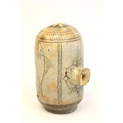 Drum shaped Pun-Cheong bottle 16th c.