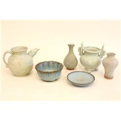 Group lot of 6 pieces Junyao