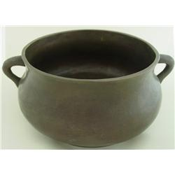 Bronze censer with 2 handles