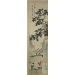 Chinese scroll signed Chang Dai Qian