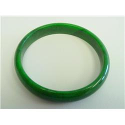 Beautiful Chinese jadeite bangle