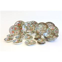 Group lot of Rose Medallion