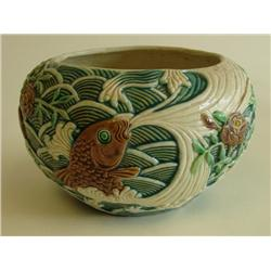 "Chinese pottery bowl of ""Fish"""