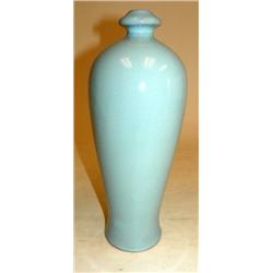 "Light blue vase ""Tanchin 10"""