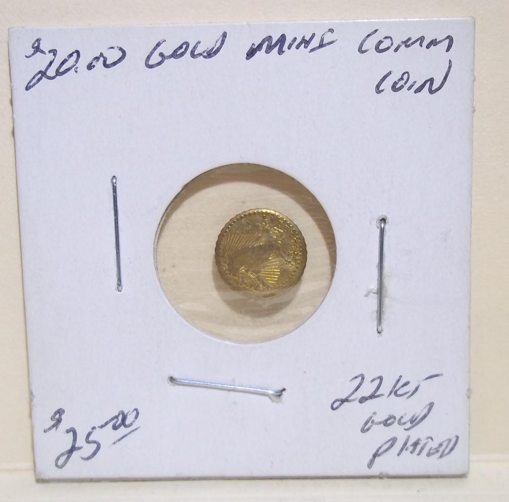 Favorite Mini $20 St Gaudens Gold Coin NT78