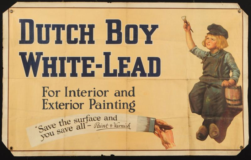 Dutch Boy Paint Advertising Banner Loading Zoom
