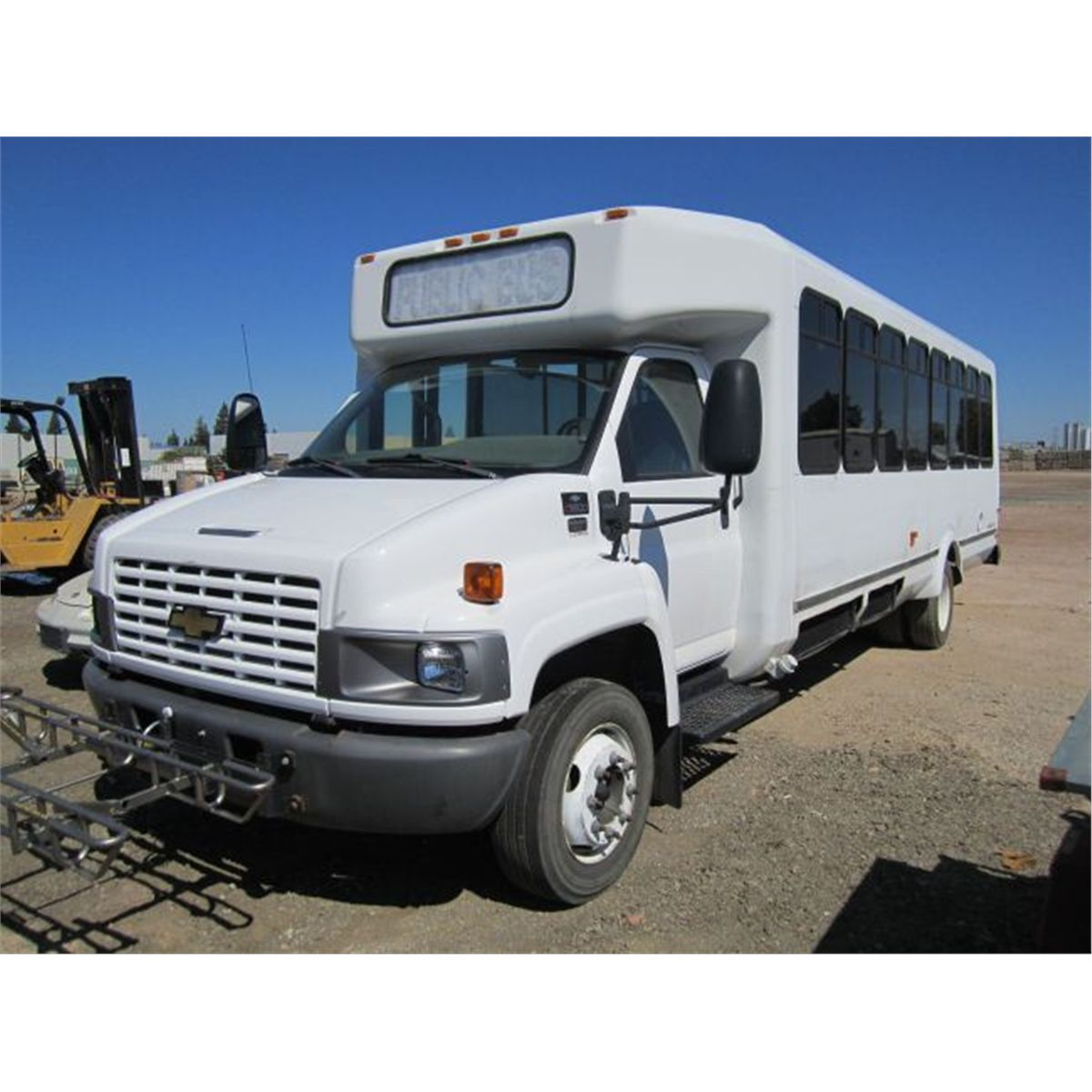 All Chevy chevy c5500 bus : 2004 Chevrolet C5500 Aero Elite S/A Transit Bus