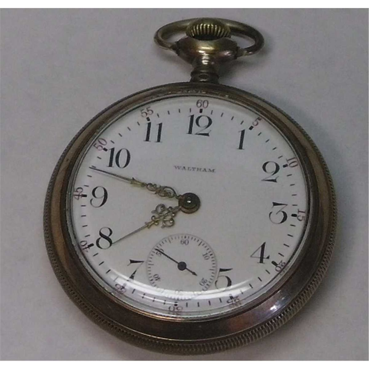 waltham pocket watch serial