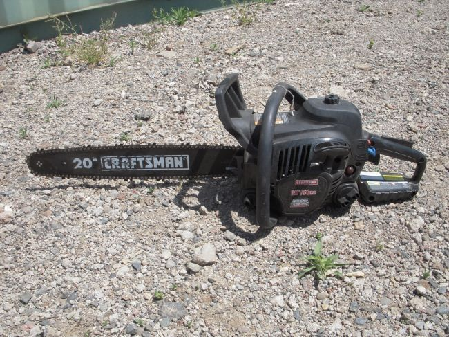 Image 1 Craftsman 20 50cc Gas Chainsaw