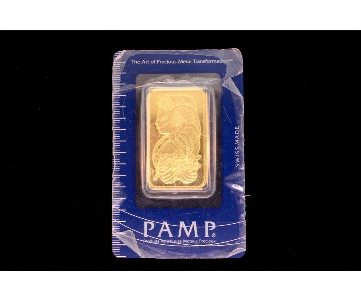 Image 1 Bullion Pamp Suisse Troy Ounce 999 9 Fine Gold