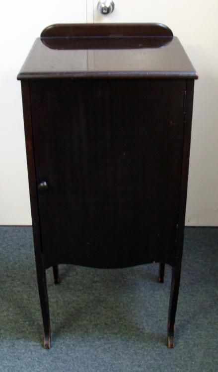 antique record cabinet antique wood 6 shelf record sheet storage cabinet 10671
