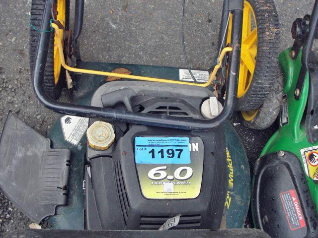Image 1 Craftsman 6hp Gas Lawn Mower