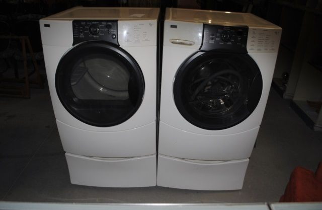 Image 1 Kenmore Elite He3 And He3t Washer Dryer