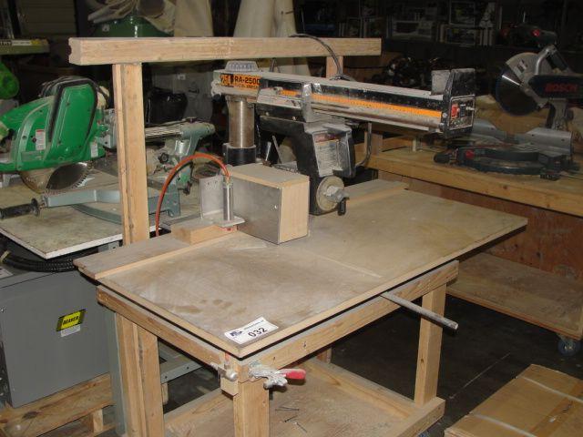 Image 1 Ryobi Model Ra 2500 Radial Arm Saw