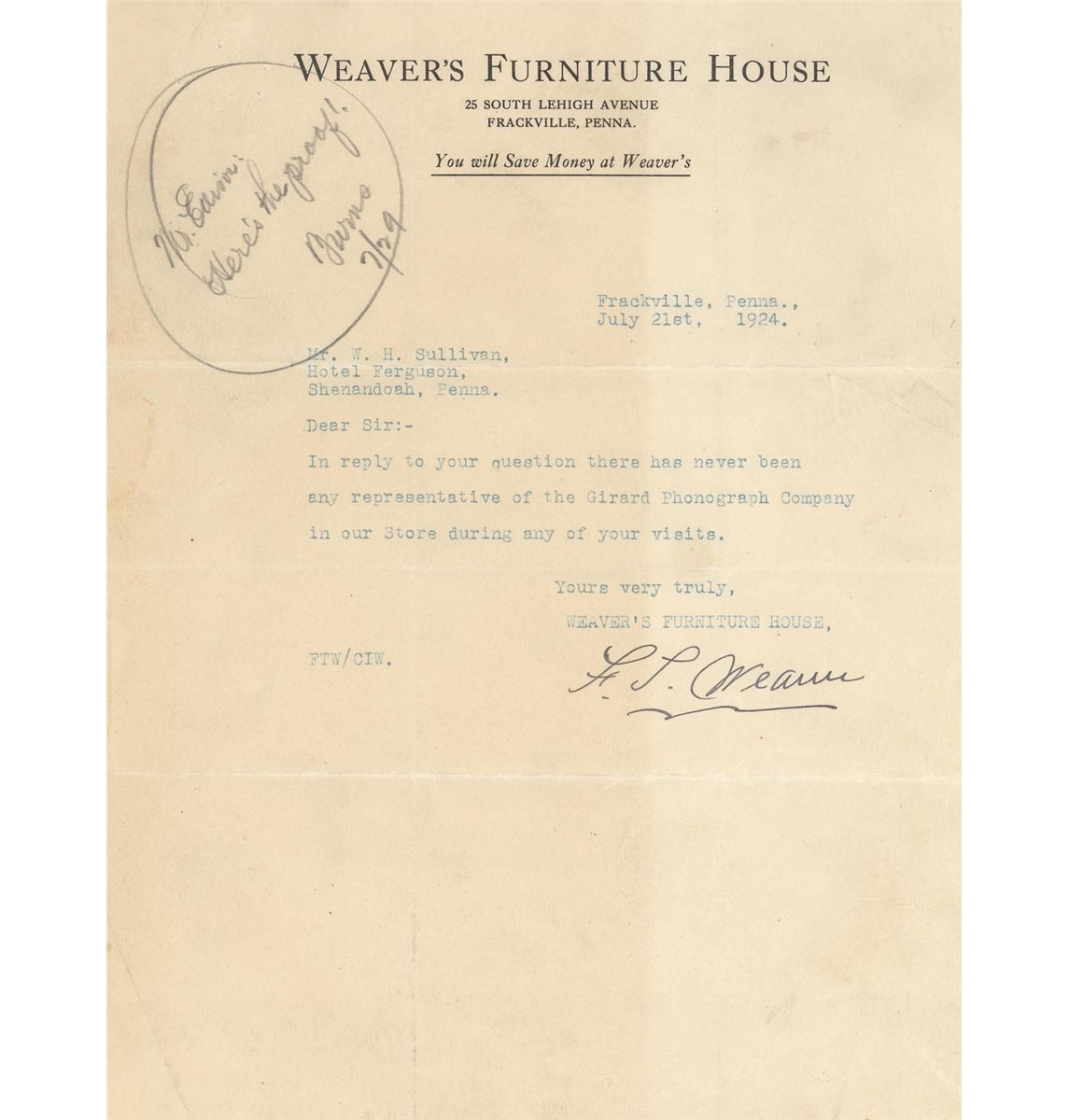 thomas edison letter edison collection of 6 signed letters phonograph 25142