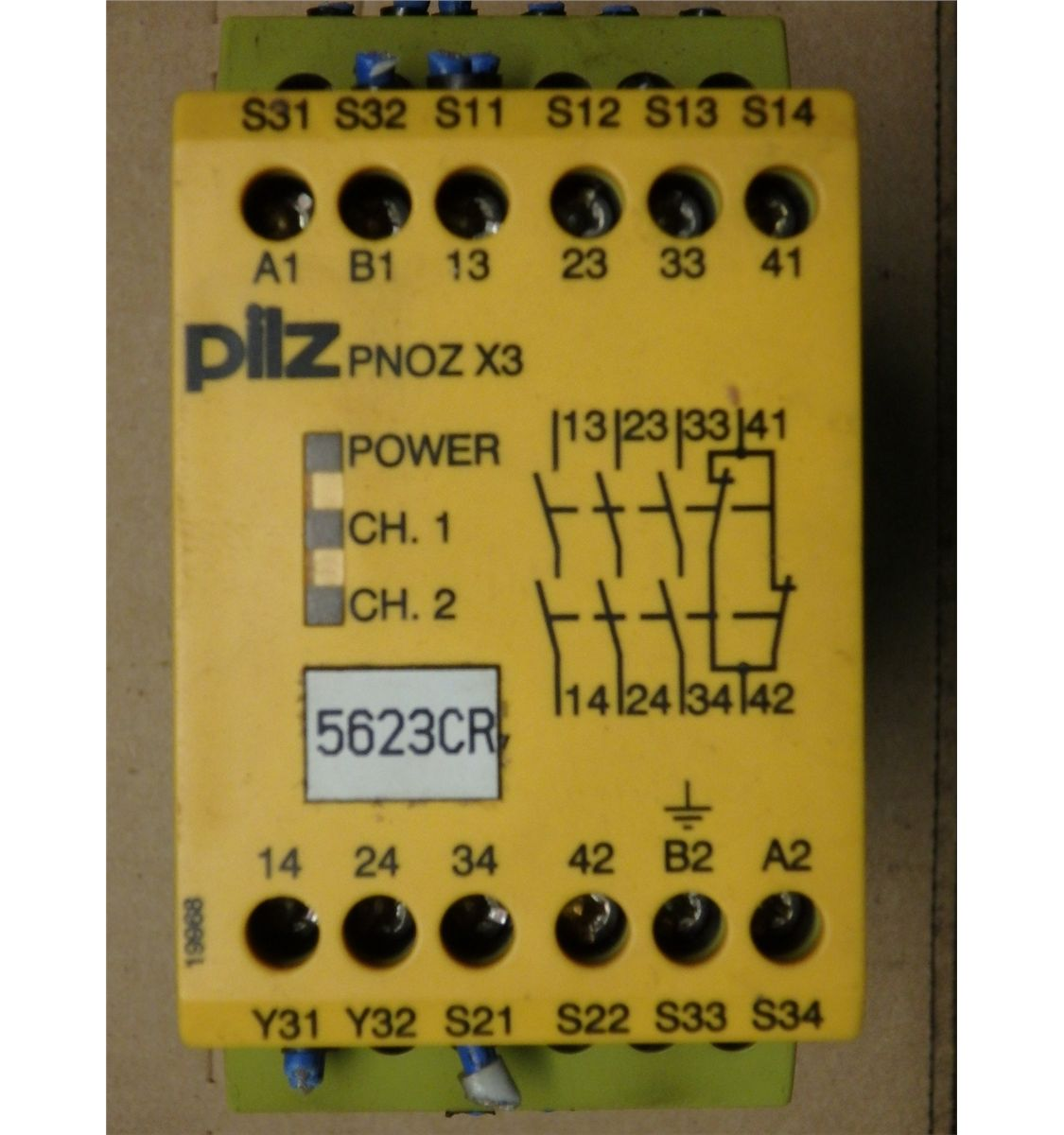 Pilz Safety Relay Wiring Diagram Omron Pnoz X Examples Image X3 On