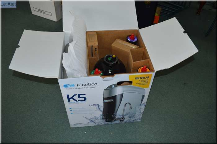 A K5 Drinking Water Station Filtration System By Kinetico New In Box Loading Zoom