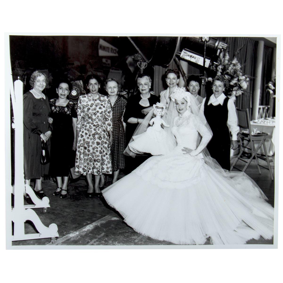 Elois Jenssen Wedding Dress Costume Sketch For Lucille Ball As Susan Vega In Forever Darling