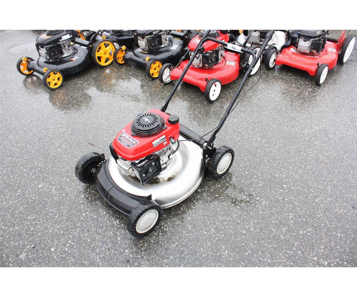 Image 1 Honda Mtd Pro Gas Lawn Mower
