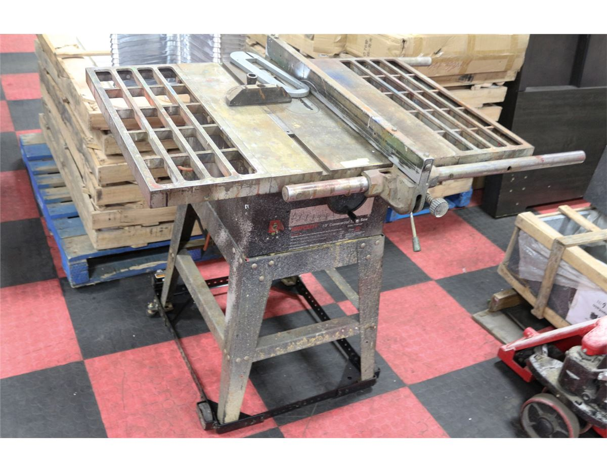 Craft 10 Commercial Table Saw Loading Zoom