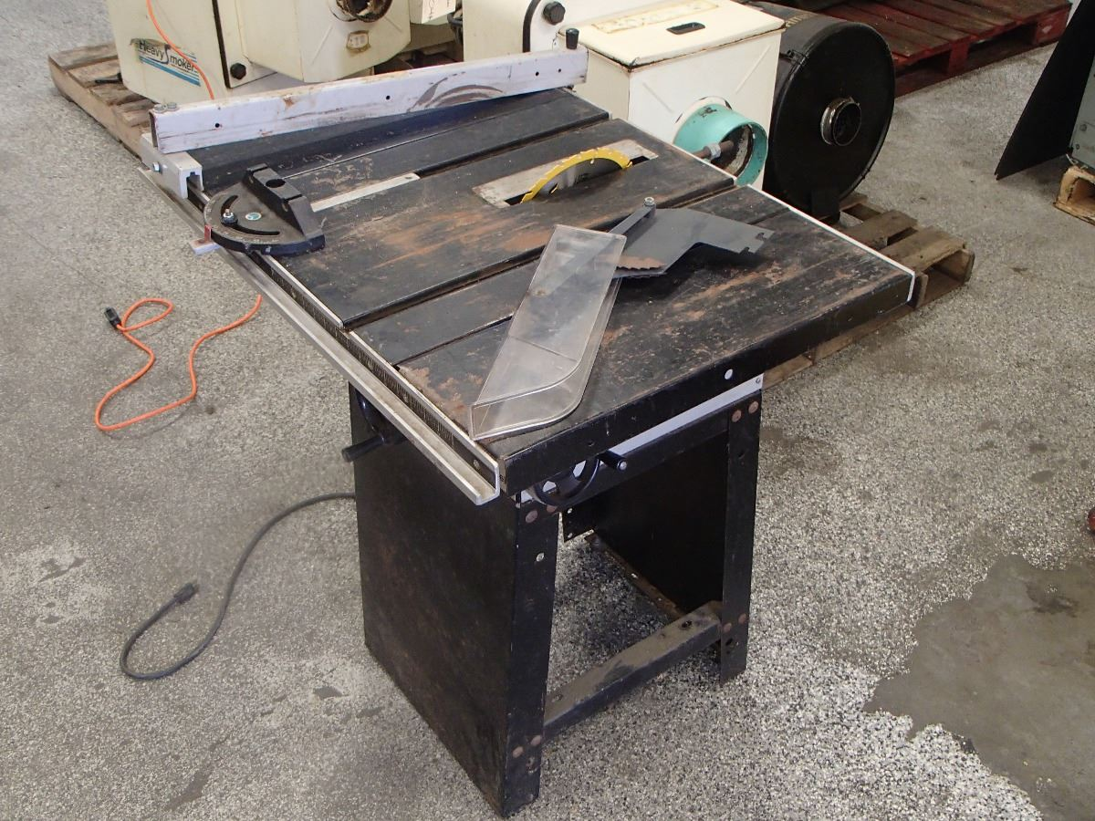 Image 2 Rockwell Homecraft Table Saw Model 9