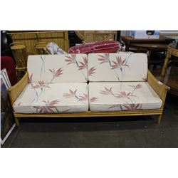 RATTAN SOFA Able Auctions