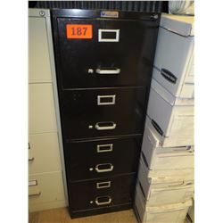 tall file cabinet metal filing cabinet 52 quot x 18 quot black oahu auctions 27004