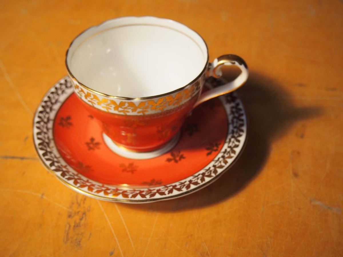 Image 1 Aynsley England Bone China Cup Saucer