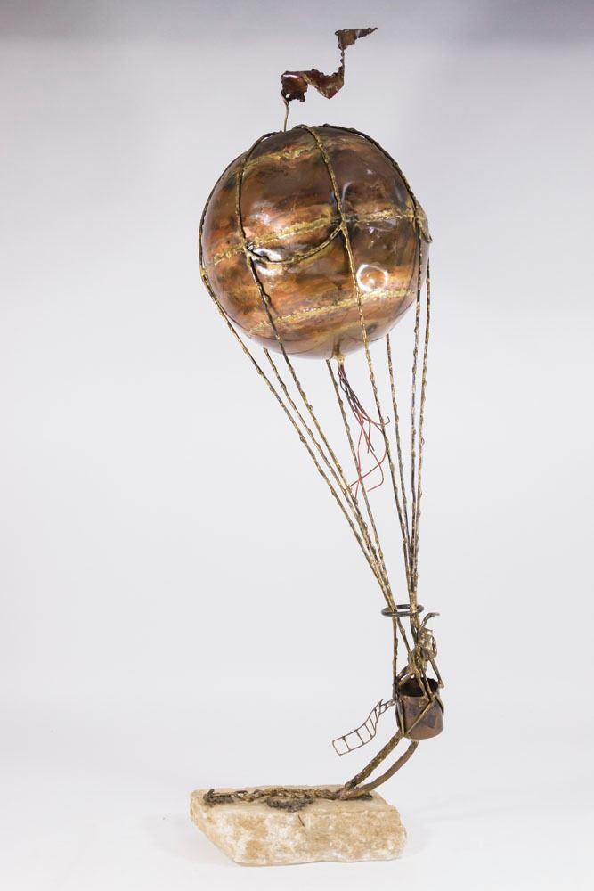 Super Curtis Jere Mixed Metal Balloon Sculpture HK18