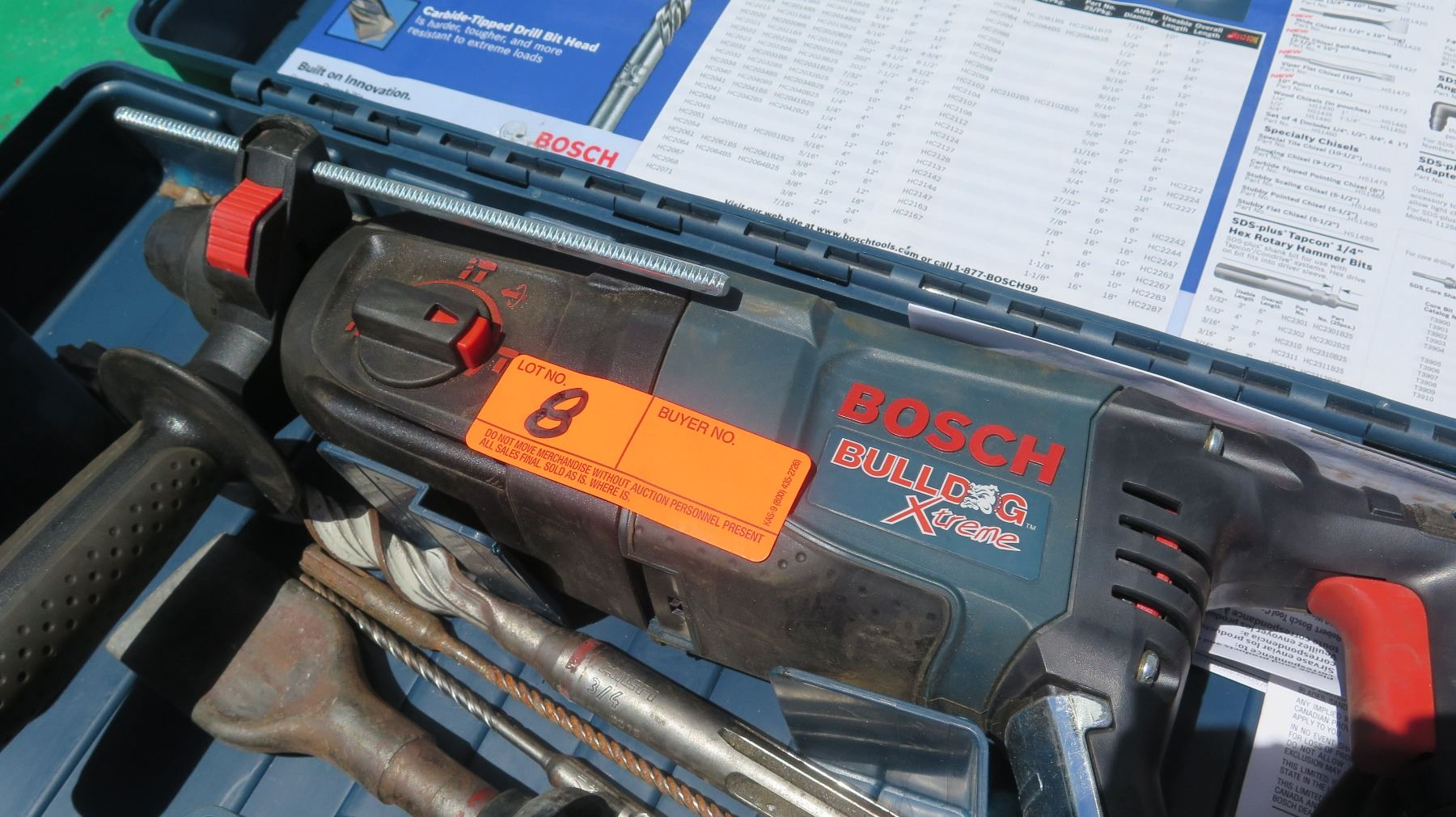 bosch bulldog extreme bosch bulldog extreme rotary hammer drill oahu auctions 2904