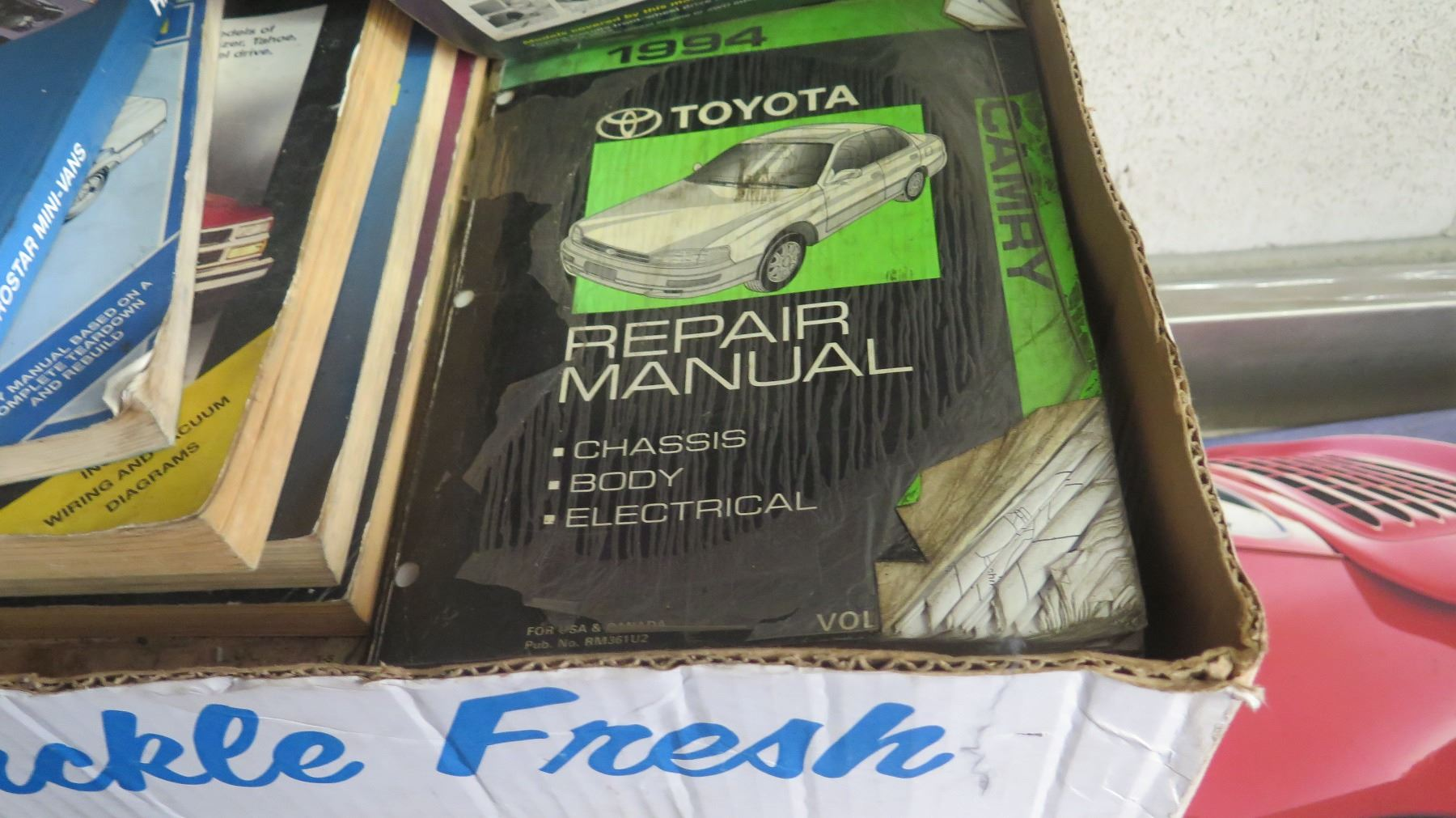 Misc Car Repair Manuals And Books Automotive Wiring