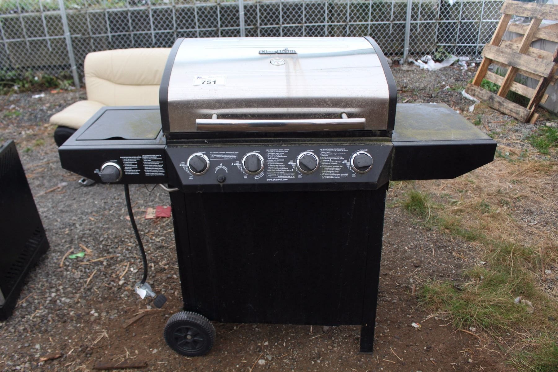 Image 1 Char Broil Stainless Steel Bar B Que