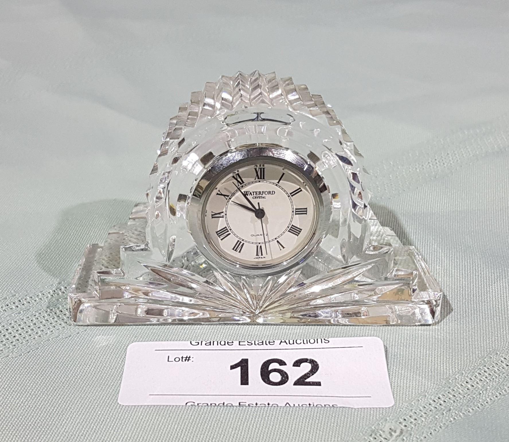 Image 1 Waterford Crystal Mantle Clock