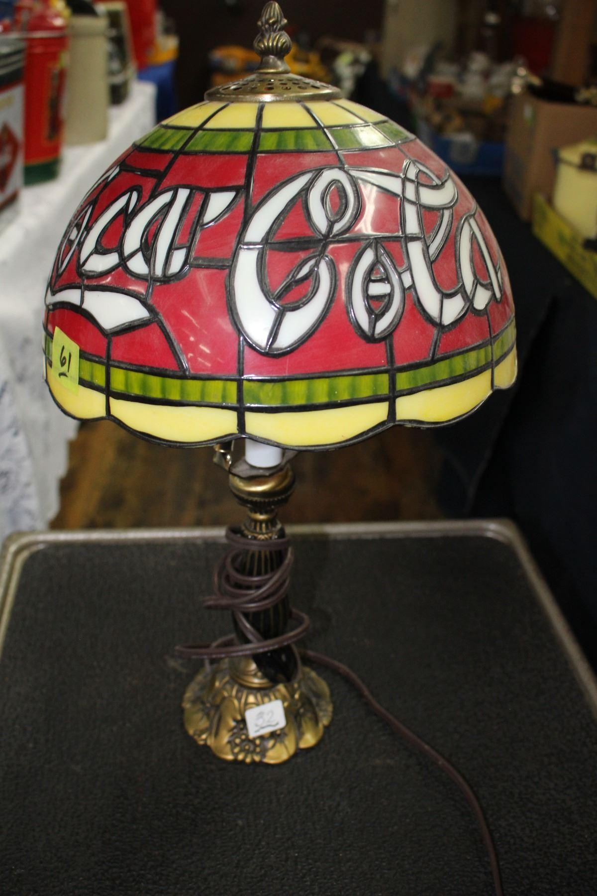 Image 1 Coca Cola Table Lamp