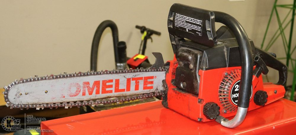 Image 1 Homelite 250 Gas Chainsaw Made In Usa