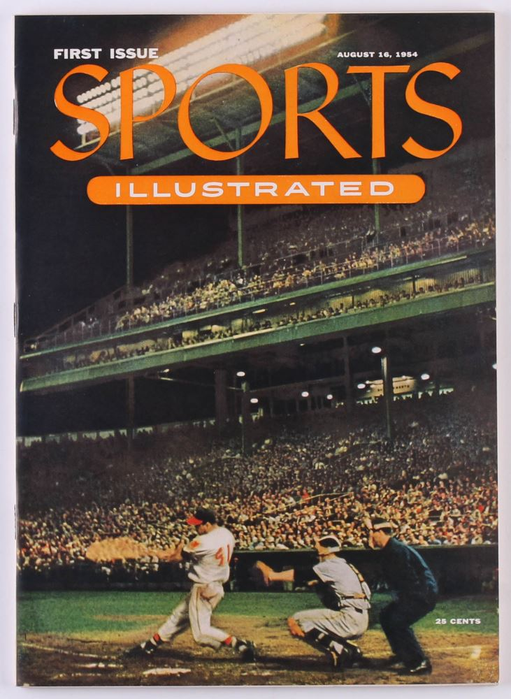 Image result for first sports illustrated magazine