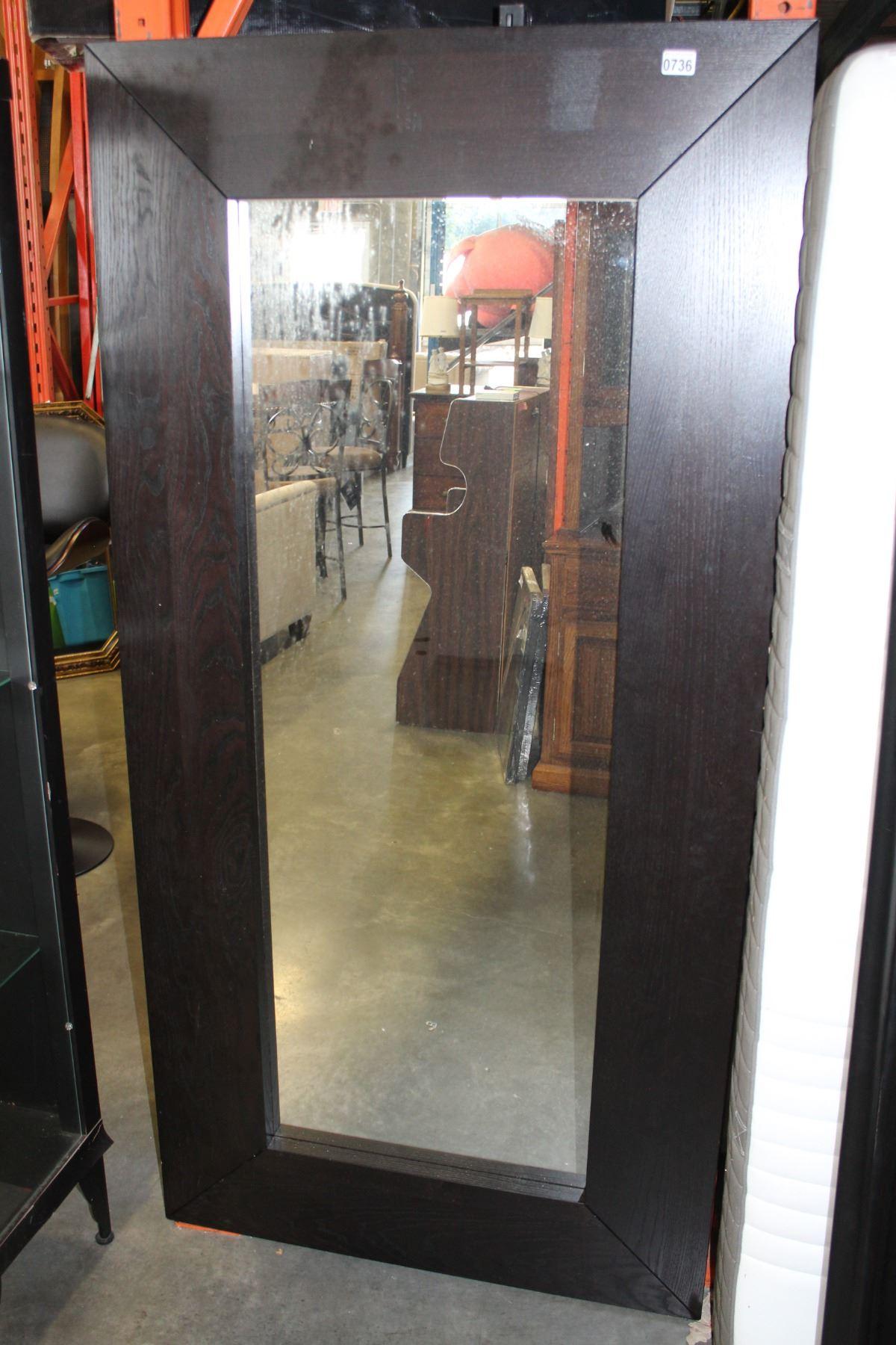 Image 1 6 Foot Tall Espresso Wall Mirror