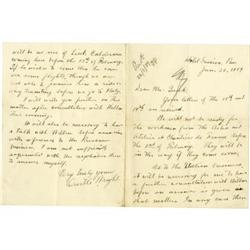 format for a letter orville wright autographed letter signed 25002